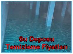 su deposu temizleme fiyatları