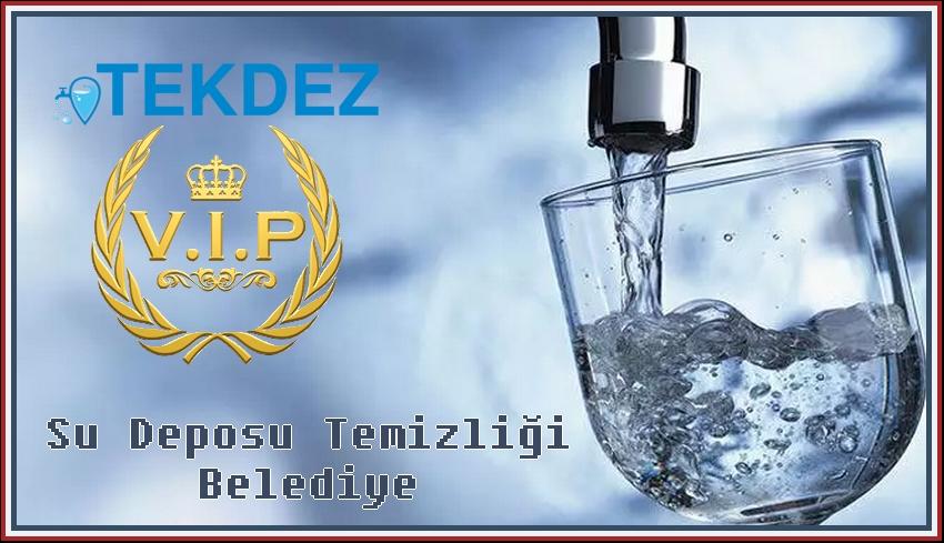Su Deposu Temizliği Belediye