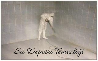 KÖSE su deposu temizliği