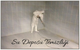 YENİÇAĞA su deposu temizliği
