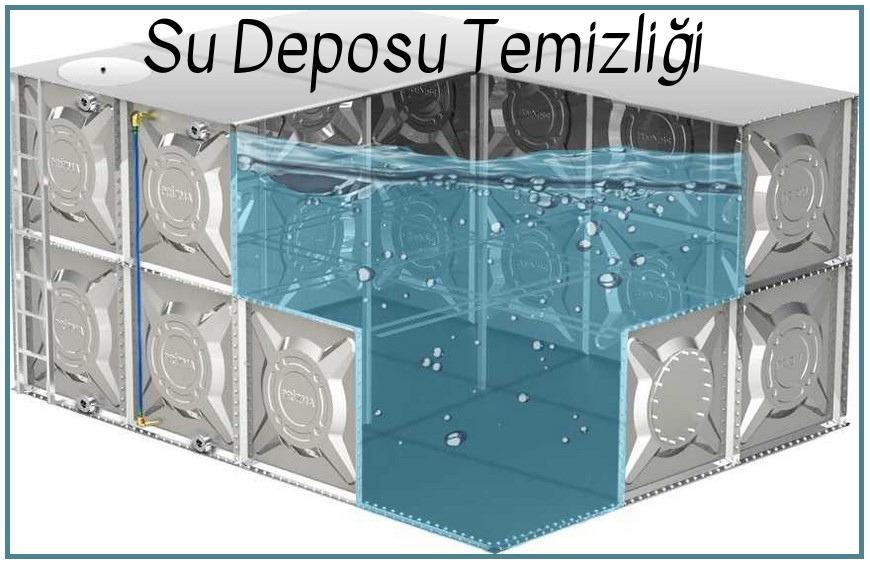 DENİZLİ su deposu temizliği
