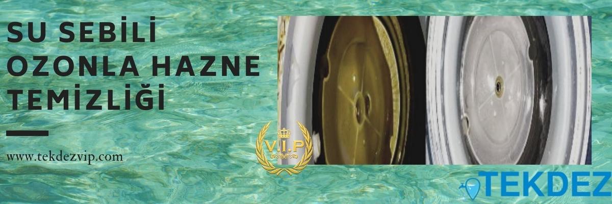 Su Sebili Ozonla Hazne Temizliği
